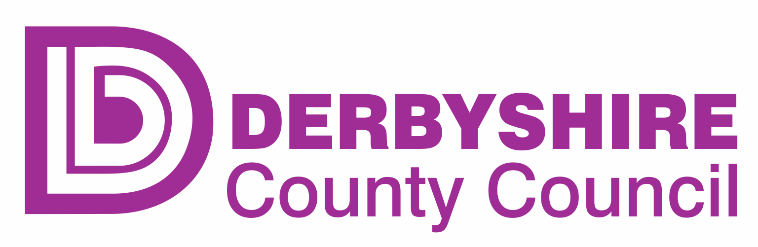 Derby County Council Logo purple
